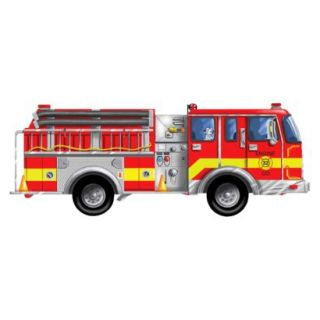 Melissa & Doug 24 pc. Floor Puzzle   Giant Fire Truck