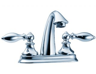 Price Pfister F 048 E0BC Catalina 4 In. 2 Handle High Arc Bathroom Faucet