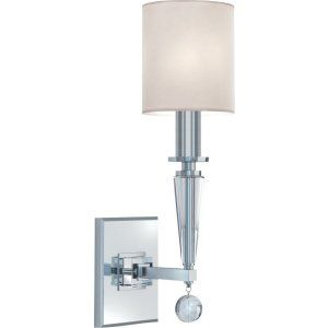Crystorama Lighting CRY 8101 PN Paxton Paxton 1 Light Nickel Sconce