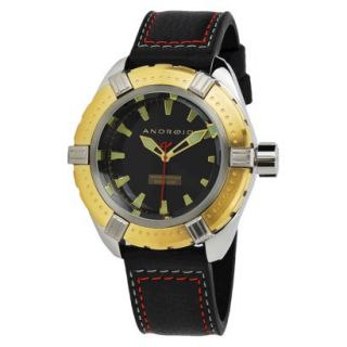 Mens Android Stratus Watch   Black/Gold