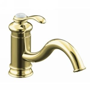 Kohler K 12175 PB Fairfax Single Handle Kitchen Faucet