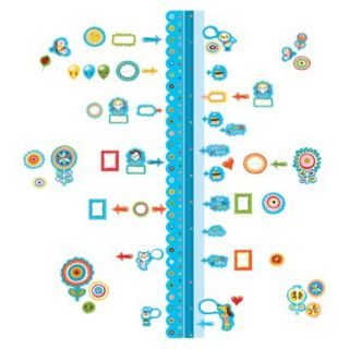 Wallies Dry Erase Sticker Growth Chart