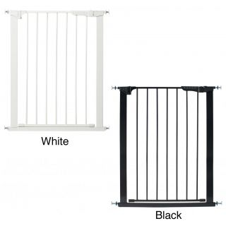 Kidco Tall And Wide Auto Close Gateway Child Gate (White, or blackStyle Tension, swing, stair, expandablePortable YesNo tool assembly YesLock Magnet lock technology automatically closes gateMounting Pressure mountedWidth of slats 2 inchesModel G120