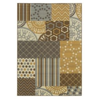 Maggie Patchwork Indoor/Outdoor Accent Rug (37x56)