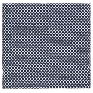 Safavieh Boston Bath Mats Navy Rug BOS685D  Rug Size Square 6 x6