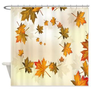 Beautiful Nature Fall Autumn Leaves Shower Curtain  Use code FREECART at Checkout