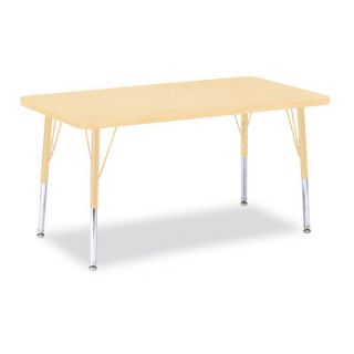 Jonti Craft Berries Rectangle Activity Table (36 x 24) 6478JC251 Size 24