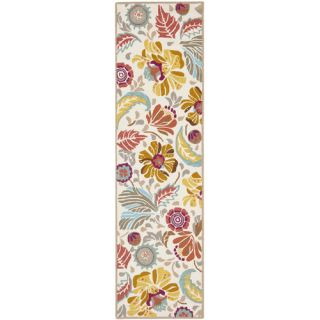 Safavieh Four Seasons Ivory / Grey Rug FRS475A Rug Size Runner 23 x 8