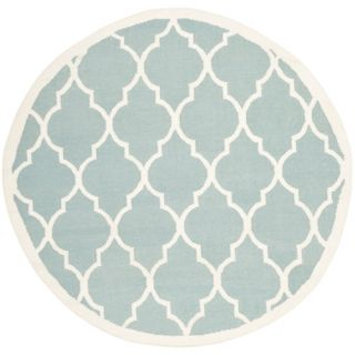 Safavieh Dhurries Light Blue/Ivory Rug DHU632C