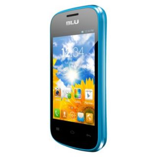 BLU Dash Junior D140 Unlocked GSM Dual SIM Android Cell Phone   Blue