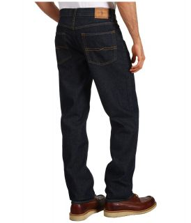 U.S. Polo Assn Dark Wash Relaxed Straight Leg Jean Mens Jeans (Blue)