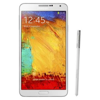 Samsung Galaxy Note 3 N9000 Unlocked Cell Phone for GSM Compatible   White