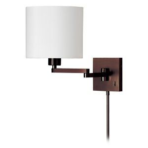 Dainolite DAI DMWL7713 OBB Universal Cast Metal Double Arm Wall Lamp