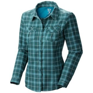 Mountain Hardwear Trekkin Flannel Shirt   Long Sleeve (For Women)   SHERWOOD (8 )