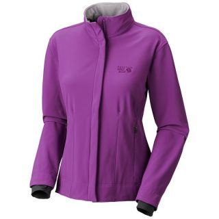Mountain Hardwear Callisto Soft Shell Jacket (For Women)   BERRY JAM (M )