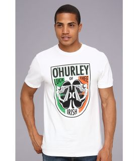 Hurley Luck Premium Tee Mens T Shirt (White)