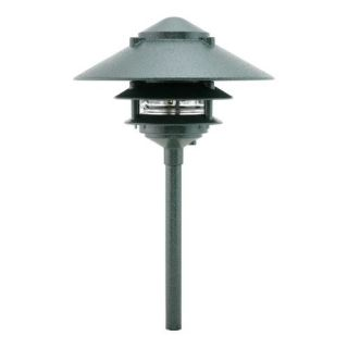 Focus Lighting AL033T10ATV 12V 18W 10 Three Tier Pagoda Hat Path Light Antique Verde
