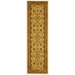 Lyndhurst Collection Ohsak Ivory/ Tan Rug (23 X 18)