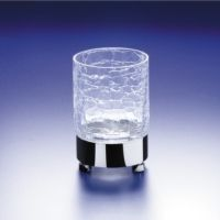 Windisch 94118 Universal Crackled Crystal Glass Tumbler