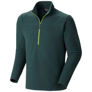 Mountain Hardwear Microchill Fleece Shirt   Zip Neck  Long Sleeve   SHERWOOD (XL )