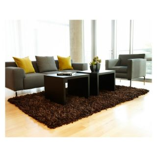 Anji Mountain AMB0450 Kakao Recycled Paper Shag Area Rug Multicolor   AMB0450