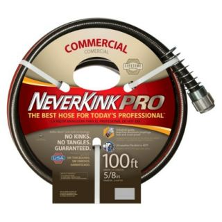 Apex Neverkink Pro Commercial Duty Garden Hose 5/8 x 50