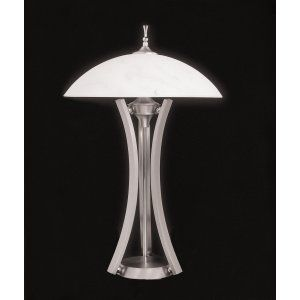 Framburg Lighting FRA 8810 SP Solstice Three Light Table Lamp from the Solstice