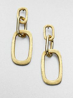 Marco Bicego 18K Yellow Gold Link Drop Earrings   Gold