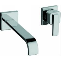 La Torre 28200 CHR Java Single Control Wall Mount Lavatory Faucet