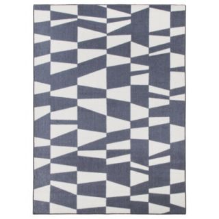 Room Essentials Geometric Area Rug   Gray (5x7)