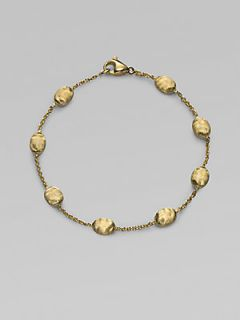 Marco Bicego 18K Yellow Gold Bead Bracelet   Gold