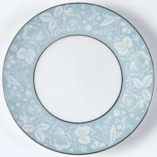 Style House Damask (Coupe Shape) Bread & Butter Plate, Fine China Dinnerware   B