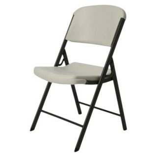 Folding Chair Heavy Duty Folding Chair   Beige
