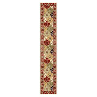Lyndhurst Collection Oriental Multicolor/ Red Runner Rug (23 X 12) (MultiPattern OrientalMeasures 0.375 inch thickTip We recommend the use of a non skid pad to keep the rug in place on smooth surfaces.All rug sizes are approximate. Due to the difference