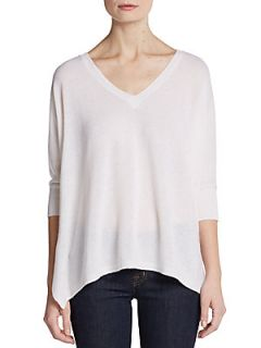 Cashmere Short Sleeved Sweater