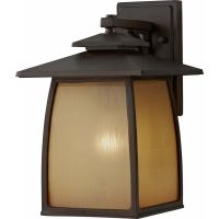 Feiss OL8502SBR Wright House 1 Light Outdoor Lantern