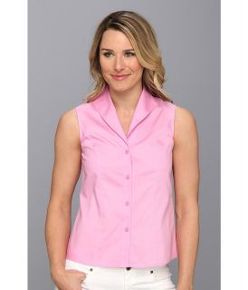 Jones New York Sleeveless Blouse Womens Sleeveless (Pink)