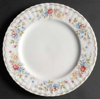 Royal Albert Jubilee Rose Dinner Plate, Fine China Dinnerware   Montrose, Floral