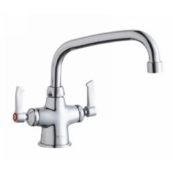 Elkay LK500AT10L2 Universal ADA Compliant Single Hole 10 Faucet with Lever Hand