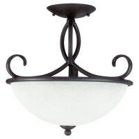 Sea Gull Lighting SEA 75075 799 Pemberton Three Light Pemberton Semi Flush Mount