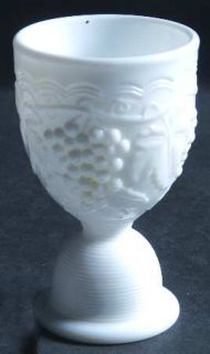 Imperial Glass Ohio Vintage Grape Milk Glass Egg Cup   Milk Glass,Grape Design