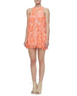Womens Spellbound Sleeveless Lace Dress   Cameo