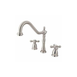 Elements of Design EB1798AXLS New Orleans Two Handle Kitchen Faucet