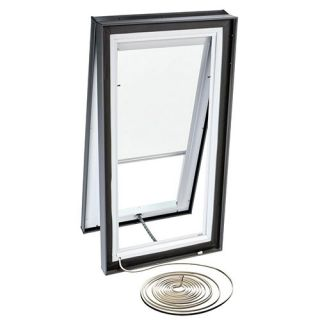 Velux RMC 3046 1028 Skylight Blind, Electric Powered Light Filtering for Velux VCE 3046 Models White