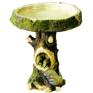 Kelkay Woodland Squirrel Bird Bath