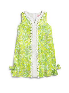 Lilly Pulitzer Kids Toddlers & Little Girls Vintage Lilly Lace Shift Dress   S