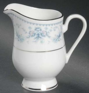 Royal Prestige Danielle Creamer, Fine China Dinnerware   Blue & Pink Flowers