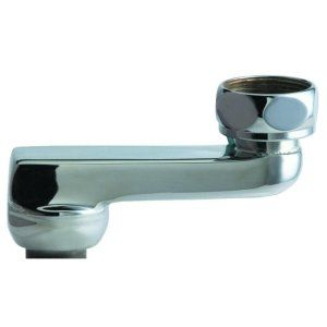 Chicago Faucets HJKABCP Universal 2 1/2 in. Offset Inlet Supply Arm with 1/2 in.