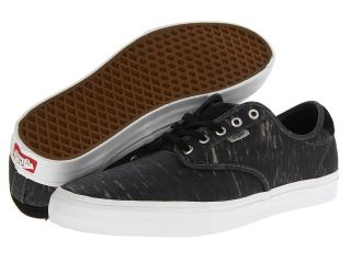 Vans Chima Pro Black) Mens Skate Shoes (Black)