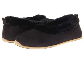 Deer Stags Sleigh Ride Womens Slippers (Black)